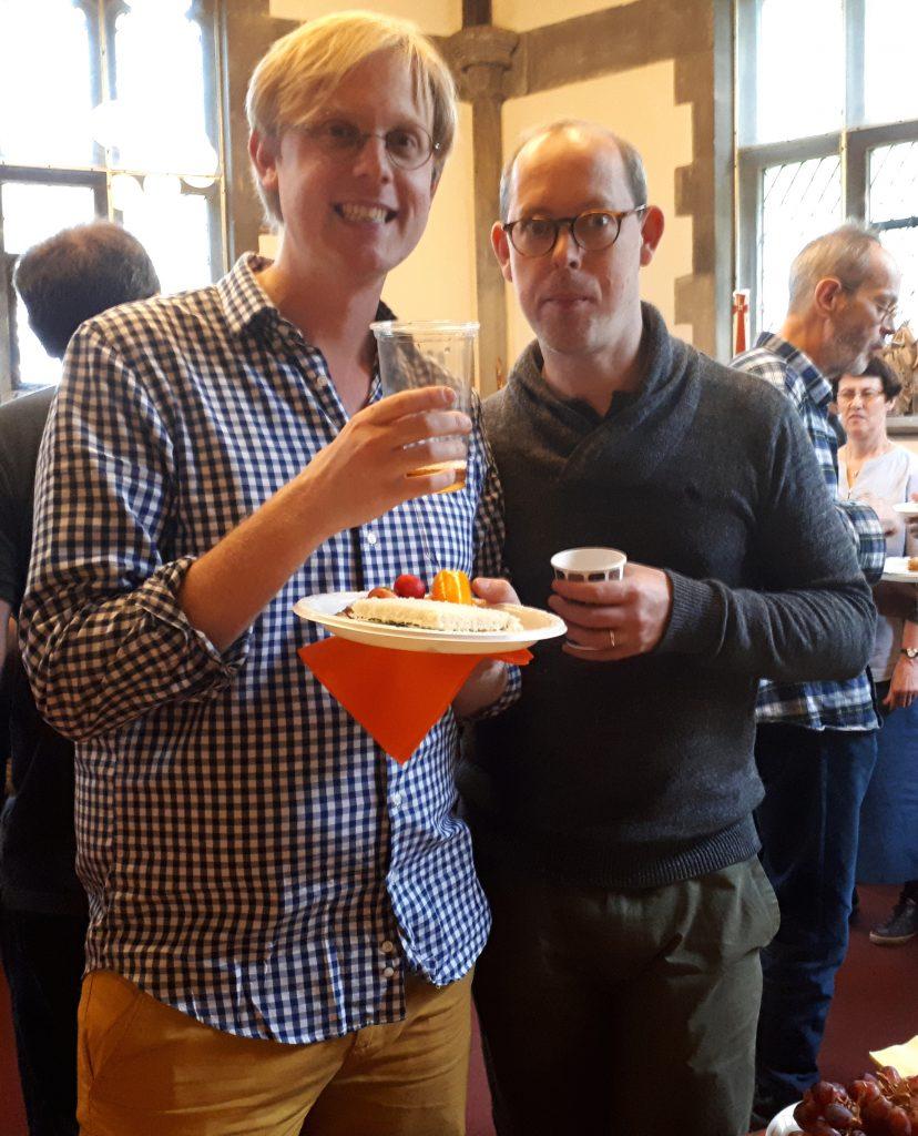 Joe and Gareth